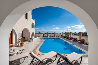 santorini hotel astir thira swimming pool